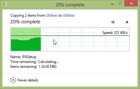 Restore Files With Windows 8 File History - File History -> Restore Process